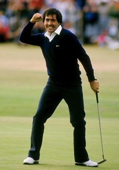 Seve Ballesteros winning the Open at St Andrews 1984 - was there ever a more exciting player to watch.