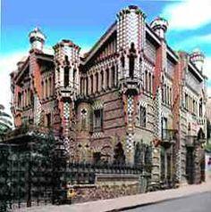 Casa Vicens. Antoni Gaudi, 1883