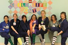 Our child life specialists celebrating Child Life Month! Some of our dedicated physicians, nurses, care partners, residents, volunteers and staff that take care of our pediatric patients every day. Ucla Medical, Medical Care, Child Life Specialist, Childrens Hospital, Medical Center, Adolescence, Volunteers, Pediatrics, Nurses
