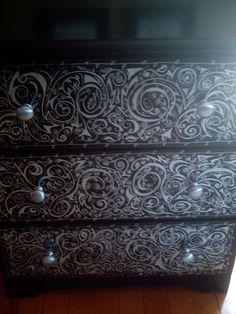 Painted Dresser by Nefarious Cupcake, via Flickr