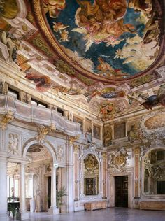 "daughterofchaos: "" Palazzo Zenobio in Venice, Italy """
