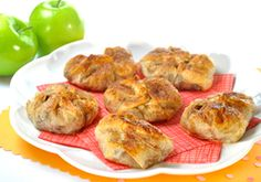 Apple Strudel Phyllo Purses  Apples and cinnamon-sugar in a crispy crust—tastes like old-fashioned apple strudel—and it's low in fat!