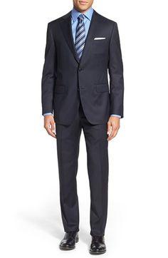 Men's Pal Zileri Classic Fit Solid Wool Suit