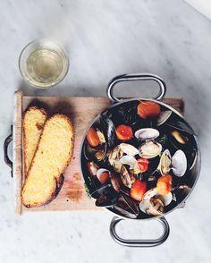 Pescheria San Pietro, Firenze Clams and mussel