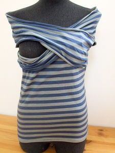 Sew Oblivious: Nursing T-Shirt Tutorial from Cemamanlafée - In English!!