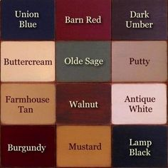 country colors