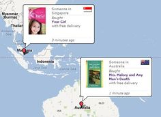 Book Depository: live delivery monitoring
