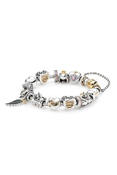 Create your own fairy tale with charms from PANDORA. #PANDORAbracelet