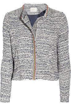 Laos Embellished Tweed Jacket, $565. Maje.