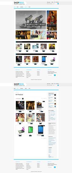 Shoppress  |  Responsive, Full-photo, Wordpress Template  |  themeforest  |  http://demo.ghostpool.com/shoppress/