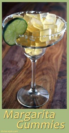 MARGARITA GUMMIES! | 22 Recipes To Try For National Margarita Day
