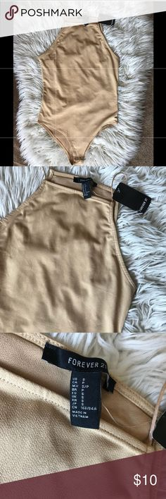 NEW forever21 tan bodysuit NEW forever21 tan bodysuit   BUNDLE ITEMS AND GET DISCOUNT Forever 21 Other