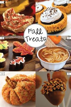 6 Delicious Fall Treat Recipes ...like chocolate / choppoed nut topped strawberry to look like acorn