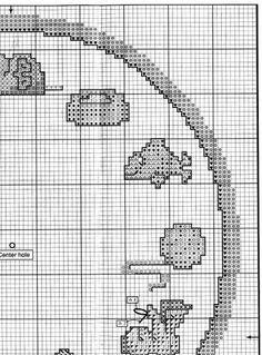 Cross Stitch free Pattern... cat clock