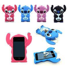 High Quality Cute Disney Stitch Boy Silica Gel Case Cover For iPhone 3G 3GS #HelloDeere