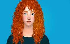 Sunny Simblr   Sim-request for anon who asked for Merida...