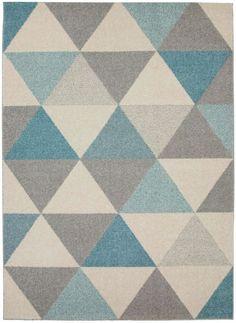 Tapis Pastel Geomet Turquoise 60002390 by benuta color Turquoise design Chevron Carpet Decor, Wall Carpet, Bedroom Carpet, Grey Carpet, Modern Carpet, Modern Rugs, Stair Carpet, Mustard Rug, Tapis Design