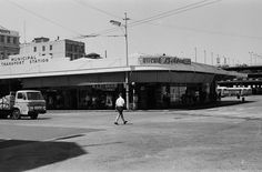 Old central bus station. My Family History, Old Images, Bus Station, Auckland, What Is Like, Historical Photos, New Zealand, South Africa, The Neighbourhood