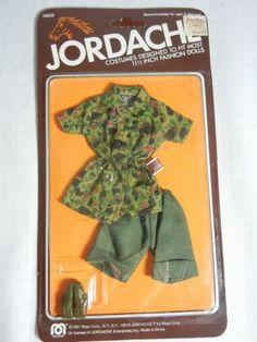 Vintage Mego Jordache Preppy Fashions 3 Packs Fits Barbie Size Dolls 1981 | eBay
