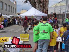 """Grupo Actialia ha patrocinado el 20è Aniversari de l´esplai """"El Pas"""" de Palafolls. www.grupoactialia.com"""
