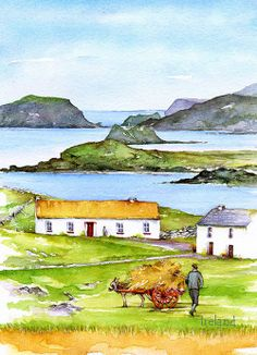 Hay, Ireland, Irish Art