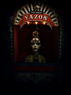 Land of Immortals is Resinrome Dark Circus Dark Circus, Circus Art, Circus Theme, Creepy Circus, Creepy Carnival, Scary Clowns, Creepy Art, Circus Aesthetic, Haunted Carnival