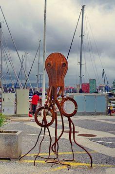 A Coruña La Corogne Galice Espagne 039 - Paseo Dársena