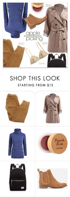 """harvest time"" by mycherryblossom ❤ liked on Polyvore featuring Current/Elliott, Caudalíe, Herschel Supply Co. and Superdry"
