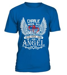 # CHARLIE WAS SO AMAZING .  CHARLIE WAS SO AMAZING  A GIFT FOR A SPECIAL PERSON  It's a unique tshirt, with a special name!   HOW TO ORDER:  1. Select the style and color you want:  2. Click Reserve it now  3. Select size and quantity  4. Enter shipping and billing information  5. Done! Simple as that!  TIPS: Buy 2 or more to save shipping cost!   This is printable if you purchase only one piece. so dont worry, you will get yours.   Guaranteed safe and secure checkout via:  Paypal   VISA…