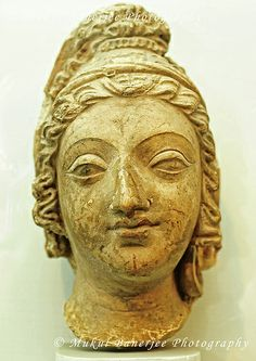 Head of a youth (Stucco), 2nd-3rd Century A.D., Gandhara Empire, India