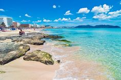 Cala Millor Beach at Mallorca, Spain