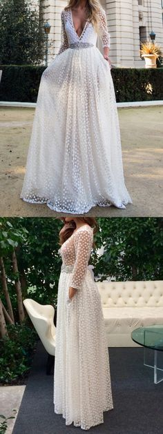 Charming White Long Prom Dresses,Evening Dresses – 2015 prom dresses, prom dress -CHOIES