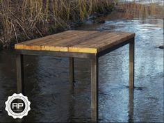 Unsere Landungsbrücke strotzt vor Lebendigkeit. Mit ihren schlanken Metallfüßen greift sie den rustikalen Charme der verarbeiteten Gerüstbohlen perfekt auf und lädt ihre Gäste zum gemeinsamen...