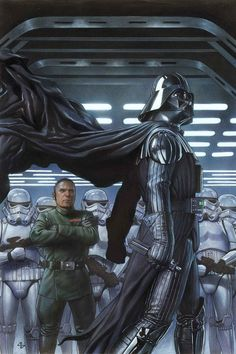 COMICS: Check Out Adi Granov's Amazing Cover For STAR WARS: DARTH VADER #2. So bad ass.