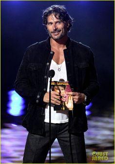 joe manganiello shirtless | Joe Manganiello: Scream Awards with Pee-Wee Herman! - Joe Manganiello ...