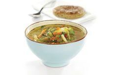 En god suppe som varmer når høsten kommer og det begynner å bli kaldt. Sunn og god.