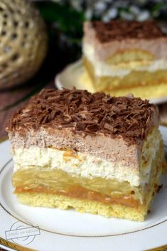 Sweet Desserts, Sweet Recipes, Delicious Desserts, Cake Recipes, Dessert Recipes, Polish Recipes, Oreo, Sweet Tooth, Good Food
