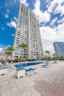 さとうあつこのハワイ不動産: HOMETIQUE new listing! Yacht Harbor Tower #810 1/1...
