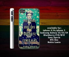 Sischa Custom   frida kahlo quote iPhone 4/4S case iPhone 5 case Samsung Galaxy S3 case Samsung Galaxy S4 case   Online Store Powered by Storenvy