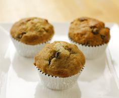 go vegan meow!: Banana Nut Chocolate Chip Muffins