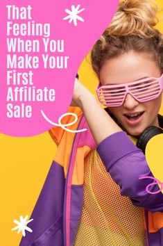 Getting your first affiliate marketing sale is a great feeling! Did you get there yet? #affiliate Make Money Blogging, Make Money Online, How To Make Money, Amazon Sale, Extra Money, About Uk, Affiliate Marketing, Online Business, Things To Sell