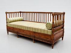 American Furniture Makers Late 1800s | Sofa, late Gustavian, 1800s.