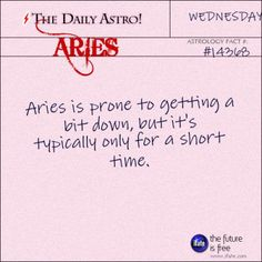 Aries 14368: Check out The Daily Astro for facts about Aries.Did you know you can check out more interesting astrology and zodiac brilliance at iFate.com.  The best site for free astrology!