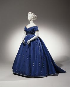 c.1865 Ensemble: Evening Bodice, Day Bodice, Skirt, and Belt. Cincinnati Art Museum