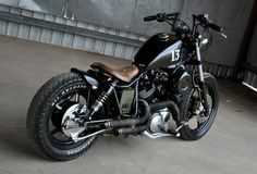 Yamaha Virago bobber... love this..