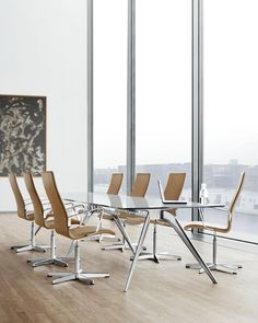How every meeting should be held - with Oxford chairs by Arne Jacobsen. #fritzhansen #arnejacobsen by fritz_hansen