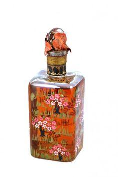 1920s Paul Poiret Rosine Cologne Bottle