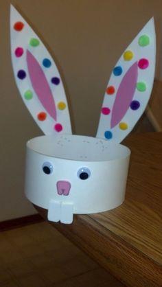 Easy Easter Bunny Ears Headband Craft