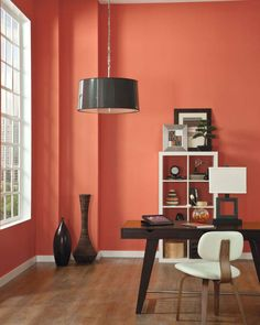 """Color authority Pantone has announced the warm orange hue Living Coral as its 2019 Color of the Year. The company says Pantone or Living Coral, is an """"animating and life-affirming shade of Coral Home Decor, Le Living, Live Coral, Interior Decorating, Interior Design, Paint Colors For Living Room, Unique Lamps, Color Of The Year, Pantone Color"""