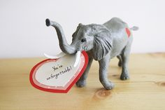 Please Note: DIY: Toy Animal Valentines